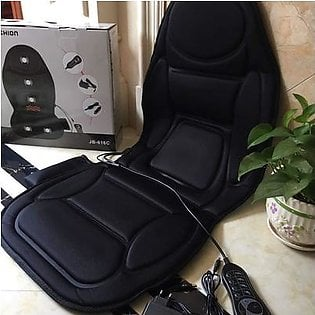 Vibration Massage Seat Cushion with Heat 6 Vibrating Motors and 3 Therapy Heating Pad, Back Massager, Massage Chair Pad for Home Office Car use