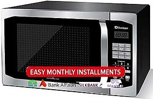Dawlance 42 Litres Microwave with Grill - DW 142 HZP - Silver & Black