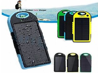Solar Power Bank 5000Mah Portable Mobile Charger