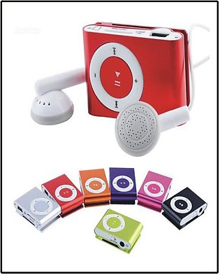 Mini Mp3 Player, Mp3 Player, Shuffler With Hands Free And Data Cable