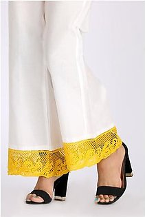 Almirah Summer Collection Vol: 03 White LAWN Stitched Trouser for Women