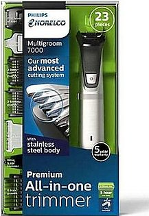 PHILIPS NORELCO BEARD AND NOSE TRIMMER MULTI KIT 23 IN 1 MG-7750