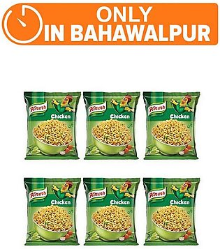 Knorr Noodles Chiken pack of 6 (One day delivery in Bahawalpur)