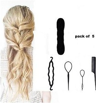 Hair Styling Set, Fashion Hair Design Styling Tool Accessories DIY Hair Accesso…
