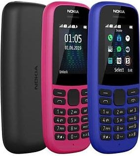 Nokia  105 2019 1.7 Inch Display 2000 Contact 500 Sms Advance Telecom
