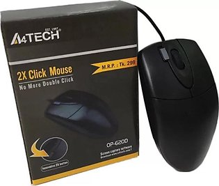 A4TECH 2X Click Wired Mouse