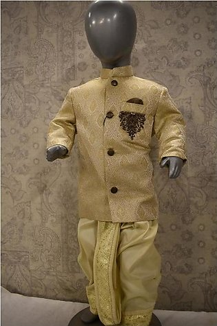 Traditional Prince Coat For Kids - By Junoon