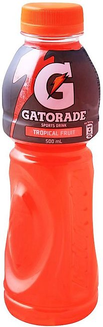 Gatorade Sports Drink, Tropical Fruit, 500ml