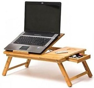 Wooden Laptop Table Multipurpose Stand Adjustable