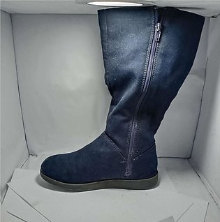 Jean long shoes new girls fashion imported 36