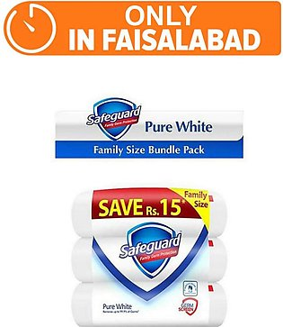 Safeguard white - pack of 3 (One Day Delivery in Faisalabad)