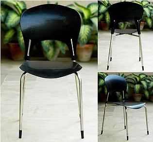 High-quality plastic chairs - stainless steel - for home and office use