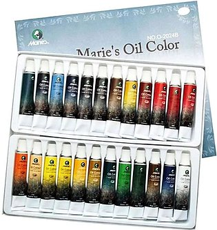Maries Oil Paint Colors - 24 oil colours for painting
