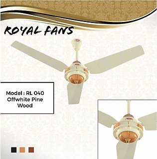 Royal Ceiling Fan  56'' Rl 040  Offwhite Pine Wood