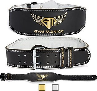 Weight Lifting Leather Belt Gym fitness