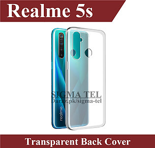 Realme 5s Transparent Back Cover High Quality Soft Crystal Clear Case For Realm…