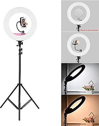 40 CM Selfie Ring Light without Tripod Stand - LED Ring Light -40 cm