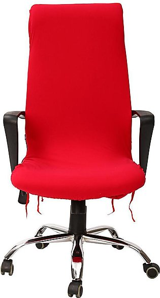 Office chair armrest cover set computer boss seat cover cloth St