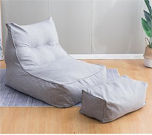 【To Global】Large Bean Bag Chair Cover Lounger Animal Highback Adult Gaming So...