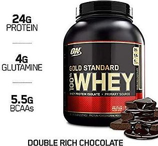Gold Standard 100% Whey Protein - Double Rich Chocolate - 5lb