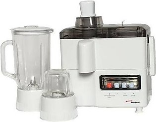 Ghous National 3 in 1 Juicer, Blender Grinder Machine - Standard Quality