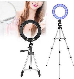 "(big sale)10"" LED Ring Fill Light with Stand Dimmable LED Fill Light Kit For Video Live Makeup"