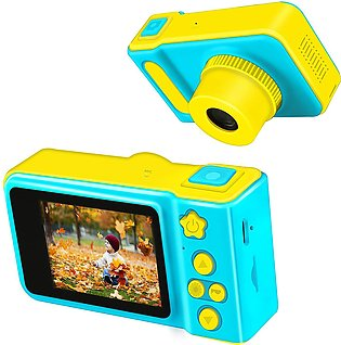 Kids Video Cameras Mini Children Camera Anti-Fall Child Toy Camcorder for Age 3…