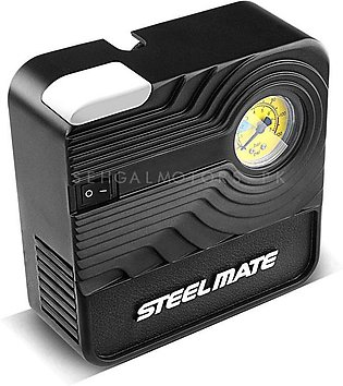Steelmate Portable Tyre Inflator and Air Compressor - PO3