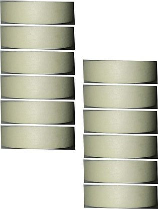 Masking Tape 1 Inch x 10 Yard Art # 201 M (12 Pcs)