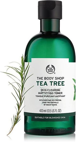 Imported The Body Shop Tea Tree Skin Clearing Mattifying Toner 400 ML