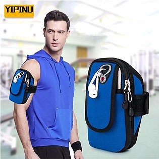 YA15 Outdoor Sports Fitness Running Arm Bag Breathable Waterproof Mobile Armb...
