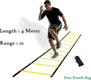 Football training agility ladder 10 rungs exercise fitness ladder-4 Meters.dril…