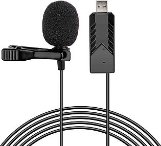 Lavalier Microphone USB Microphone Mini Microphone Headset for Computer