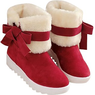 Women Boots Women Winter Fashion Shoes Solid Snow Boots Female Ankle Boots