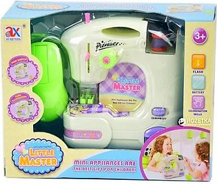 Pack Of Mini Home Appliances Sewing Machine - Multicolour