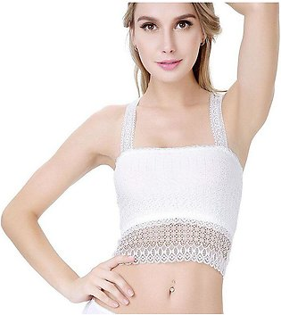 New Butterfly Floral Bra Back Seamless Sexy Lace Bra Women Transparent Underw...