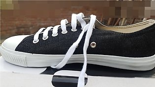 Casual jean Black & Jean Blue sneakers for men and women of Hbrand