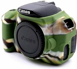 Silicon Case Use For Canon 700d, 650d, T5i, T4i. Army Green Color