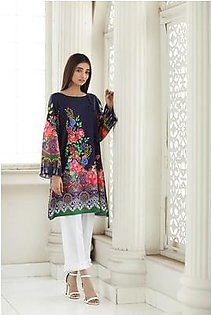 So Kamal Women Summer Collection 2019 Multi 1 PCS Pret - Printed Int:XS Lawn Shirt DPL19-328