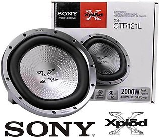 Original Sony Xplod 12 Inch Sub Woofer Heavy Duty Boombastic Bass 5 Sided Dimpl…