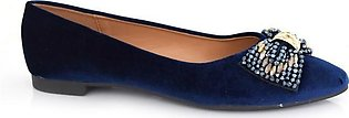 Hush Puppies-SS-SD-0134-Navy Blue Open Sandal for Women