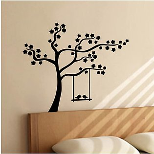 Beautiful tree wall sticker for room and Tv lounge decorations birds tree wall …