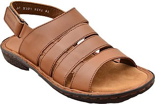 Urban Sole - Tan Casual Sandal for Men - BR-9101