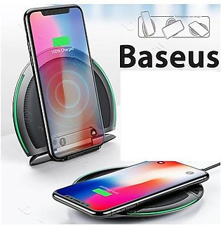 Baseus 10W Foldable Qi Wireless Multifunction Fast Charger Pad for iPhone X X...