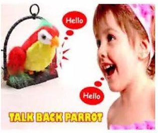 Talk Back Talking Toy Parrot /gifts/ baby toys /kids toys
