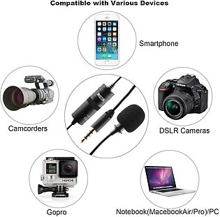 Mic Boya M1 Lavalier Collar Microphone for ALL Devices