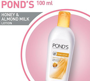PONDS HONEY AND ALMOND MILK LOTION 100ML