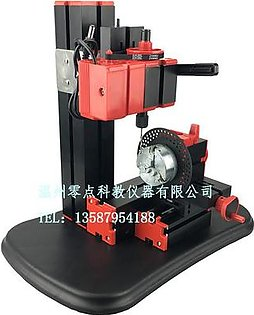 【Special Offer】Mini Lathe Bench Drill Machine DIY Woodwork Model Making Tool Lathe Milling Machine Kit