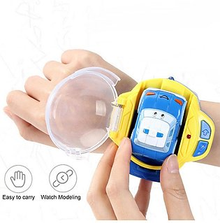 2-IN-1 Gravity Sensor Smart Watch Remote Control RC Voice Command Car Racing Toy