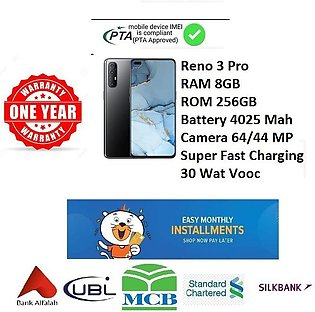 OPPO Reno 3 Pro Mobile Phone - 6.5 FHD Display - 8GB RAM - 256GB ROM - Hybrid D…